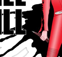 Kill Vampire Bill (Red Version) Sticker