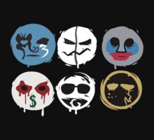 Hollywood Undead Mask Fanmade by Merkits