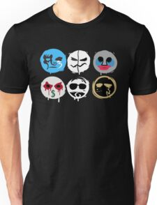 Hollywood Undead Mask Fanmade Unisex T-Shirt