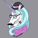 Hipster Unicorn Says... by AriesNamarie