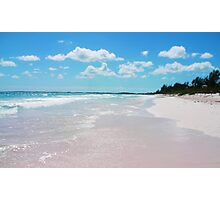 Pink Sands 2 Photographic Print