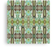 Belle Epoque Pattern Canvas Print