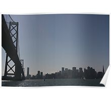 at water level: San Francisco Poster