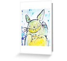 Totoooro Greeting Card