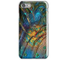 Light Filled, Sun Chilled, Blue Parrot by Alma Lee iPhone Case/Skin