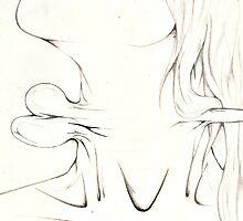 scissors through throat by AmberMJohnson