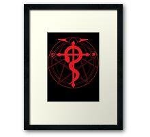 Fullmetal Alchemist Homunculus Circle Framed Print