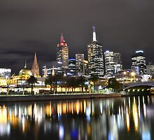 River Lights by Kylie Reid