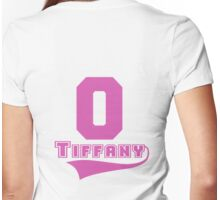 Tiffany - 0 Womens Fitted T-Shirt