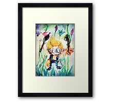 tHe M@d ArtiST  Framed Print