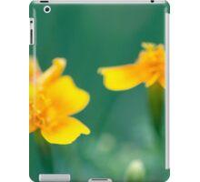 Fuzzy Marigolds  iPad Case/Skin