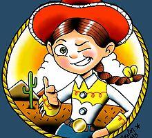 Pixar – Jessie (Toy Story 2) by sailormary