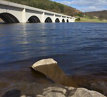 Ashopton Bridge, Ladybower Reservoir by Nick Atkin