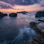 Godrevy Lighthouse at Sunset by Matt Stansfield