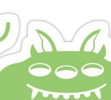 Umbrella Monster Sticker