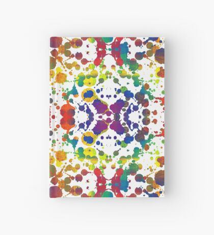 Rainbow Tears, White Hardcover Journal
