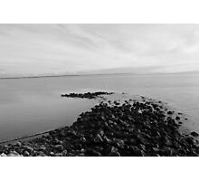 Stone Outcrop Photographic Print