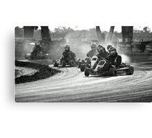 Busselton Dirt Kart Fun Canvas Print