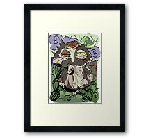 Owl old story Framed Print