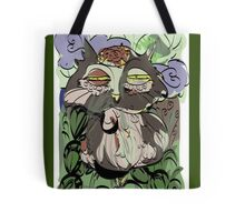Owl old story Tote Bag