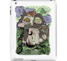 Owl old story iPad Case/Skin
