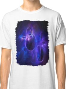 Blue and Purple Circles 1 Classic T-Shirt