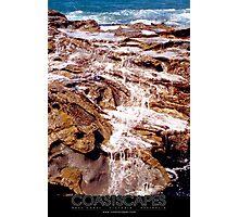 Bass Coast Rock Pools Photograph Photographic Print