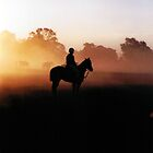 Polocrosse Sunrise Photograph by Margaret Woodlock-McLean