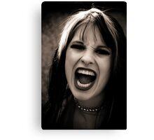 Scream......................... Canvas Print