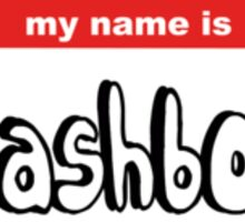 My name is Trash boat Sticker