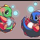 Bubble Bobble by b-inky