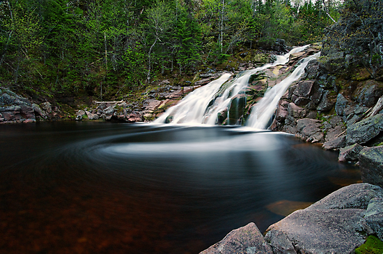 Mary Ann Falls, Cape Breton, Nova Scotia by Stephen Beattie