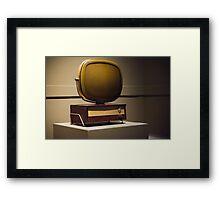 Predicto Television Framed Print