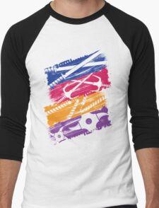 Ninja Style Turtles Men's Baseball ¾ T-Shirt