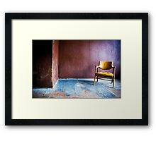 Just a Chair Framed Print
