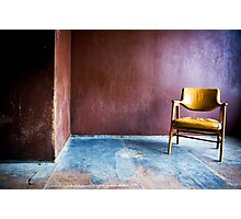 Just a Chair Photographic Print