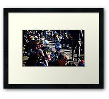 Petrol Heads Framed Print