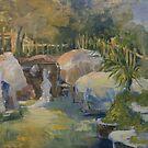 Coy Pond by Robin Borland