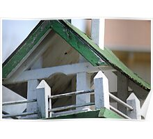 Aged Birdhouse Poster