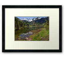 Hüttensee Framed Print