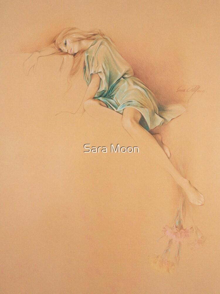 """""""Far Away"""" in Colour Pencil by Sara Moon"""