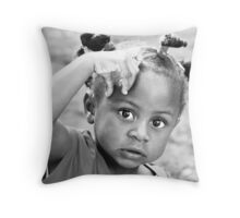 LET ME THINK. Throw Pillow