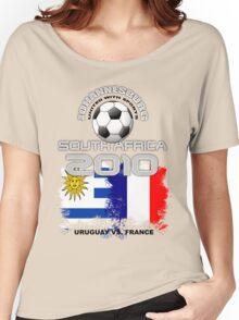 URUGUAY VS. FRANCE Women's Relaxed Fit T-Shirt