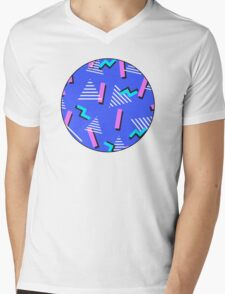 Retro x 2 Mens V-Neck T-Shirt