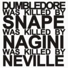 Neville Longbottom is a hero by Kate Bloomfield