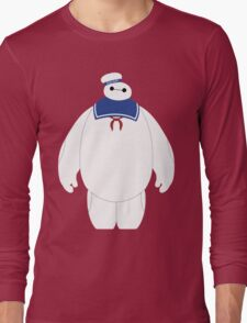 Stay Puft Baymax Parody Long Sleeve T-Shirt