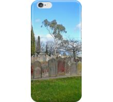Headstones, Christ Church, Longford iPhone Case/Skin