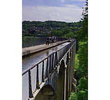Pontcysyllte Aqueduct, Llangollen Photographic Print