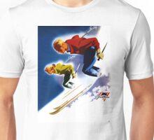 Jantzen Vintage Poster Restored Unisex T-Shirt