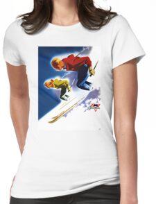 Jantzen Vintage Poster Restored Womens Fitted T-Shirt
